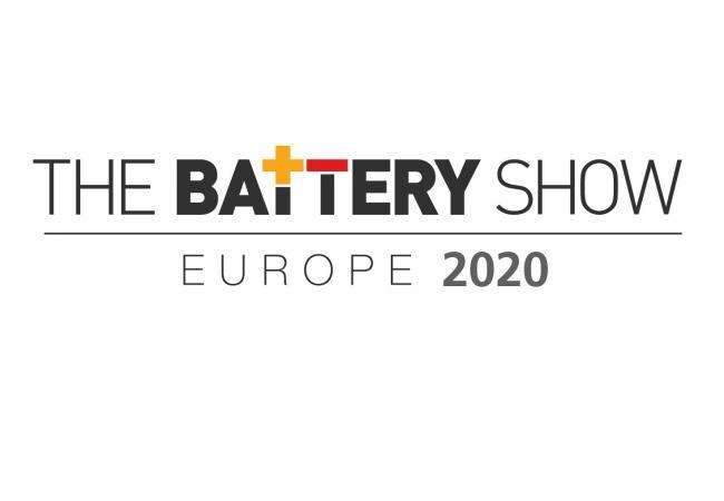 Besuchen Sie uns auf der Battery Show in Stuttgart 2020 vom 28. bis 30. April