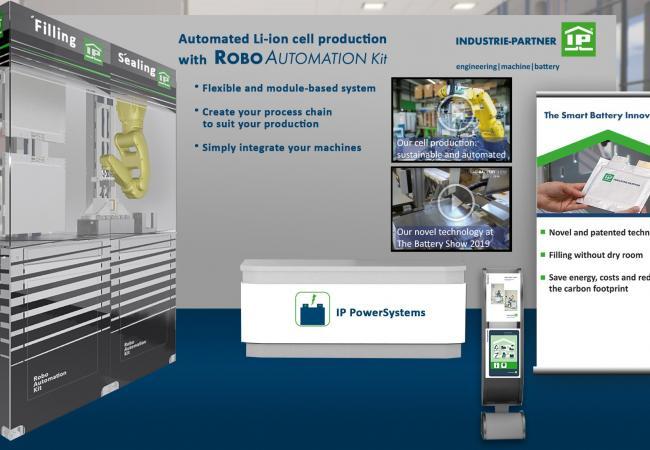 IP PowerSystems auf der VDMA Virtual Battery Exhibition vom 30.06. bis 06.07.