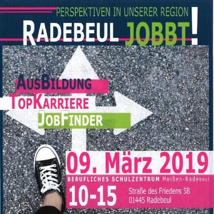 Ausbildungsmesse Radebeul am 09.03.2019